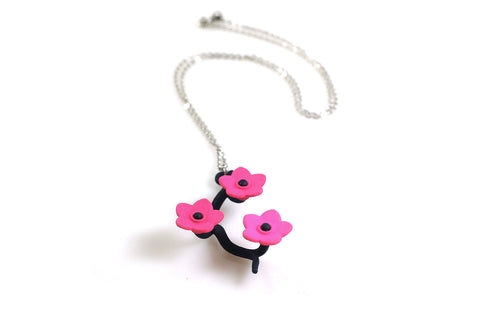 Cherry Blossom Necklace (Large) - Free For Mind