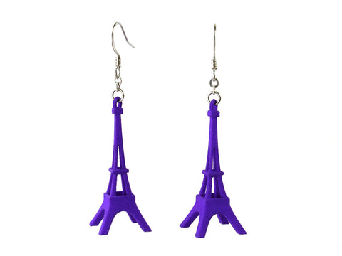Eiffel Tower Earrings - Free For Mind - 1