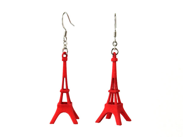 Eiffel Tower Earrings - Free For Mind - 3