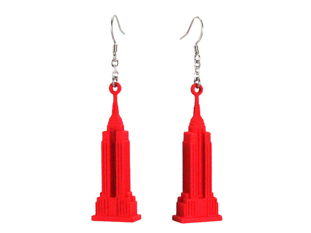 Empire State Earrings - Free For Mind - 1
