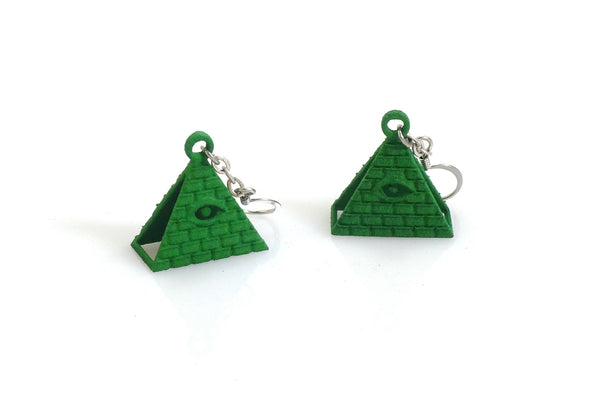 All-Seeing Eye Earrings - Free For Mind - 3