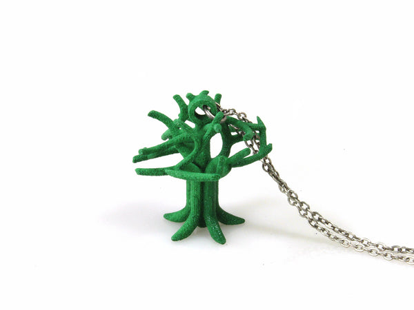 Oakland Tree Necklace - Free For Mind - 1