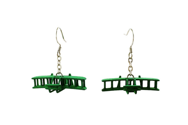 Wright Flyer Earrings - Free For Mind - 2