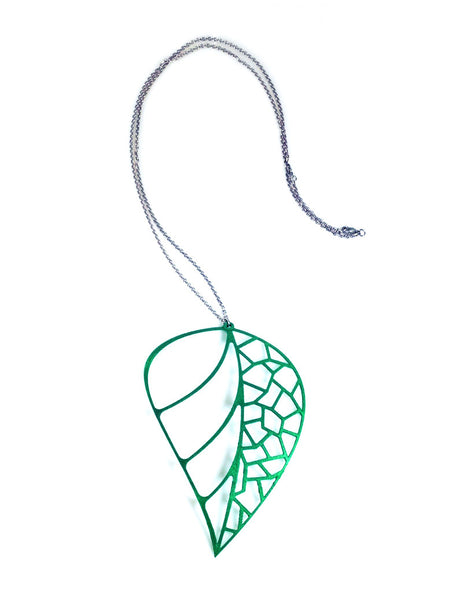 Leaf Necklace - Free For Mind - 2