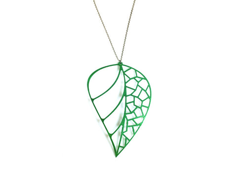 Leaf Necklace - Free For Mind - 1