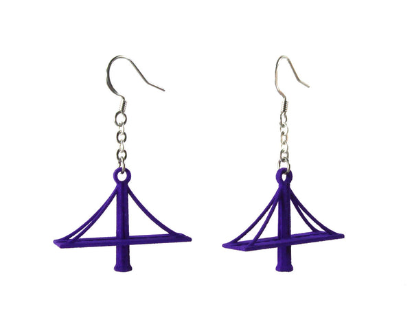 New Bay Bridge Earrings - Free For Mind - 1