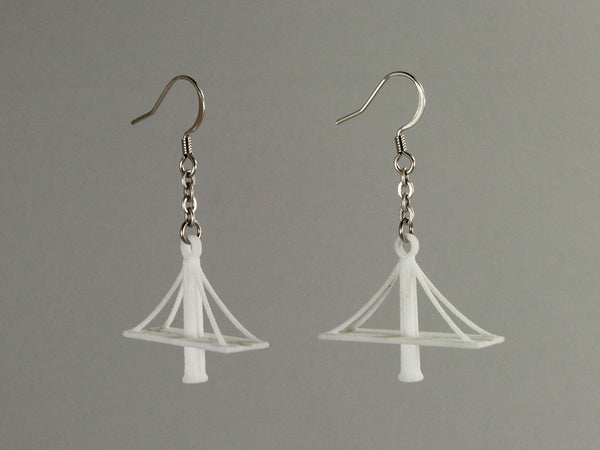 New Bay Bridge Earrings - Free For Mind - 2