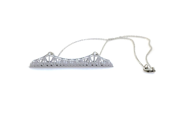 Old Bay Bridge Necklace - Free For Mind - 3