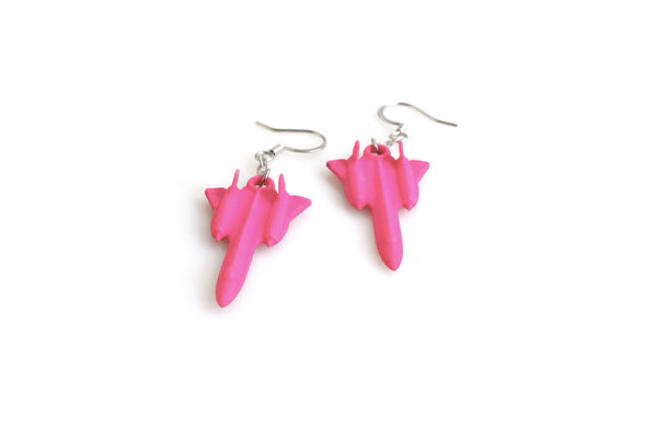 SR-71 Blackbird Earrings - Free For Mind - 1