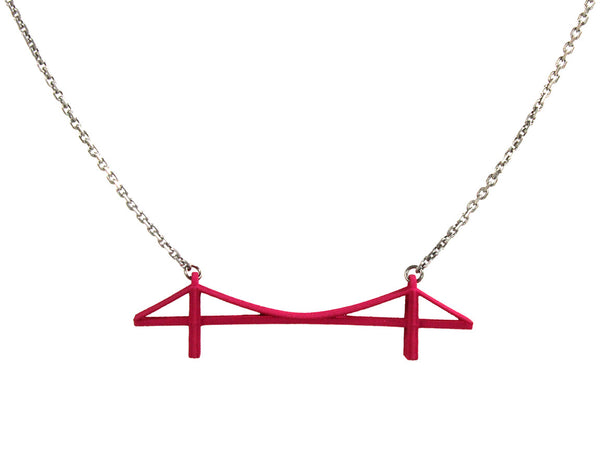 Brooklyn Bridge Necklace - Free For Mind - 4
