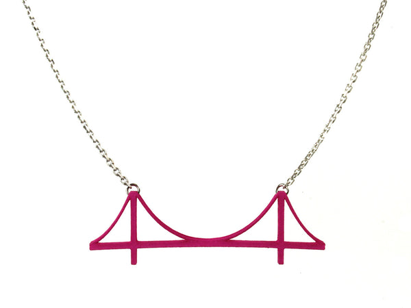 Golden Gate Bridge Necklace - Free For Mind - 4