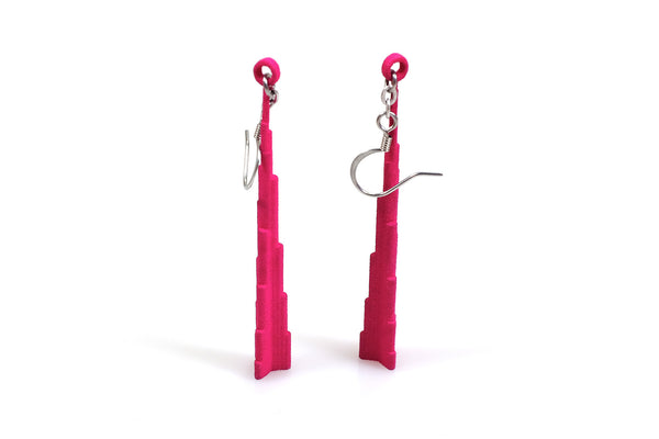 Burj Dubai Earrings - Free For Mind - 5