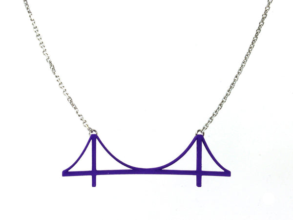 Golden Gate Bridge Necklace - Free For Mind - 8