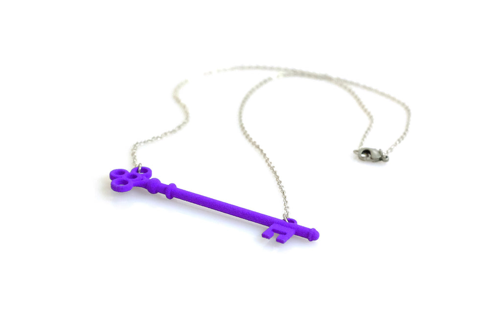 Skeleton Key Necklace - Free For Mind