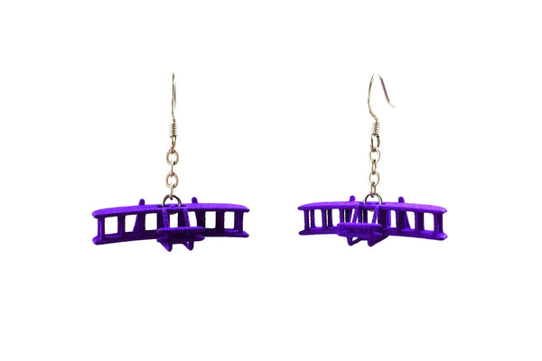 Wright Flyer Earrings - Free For Mind - 5
