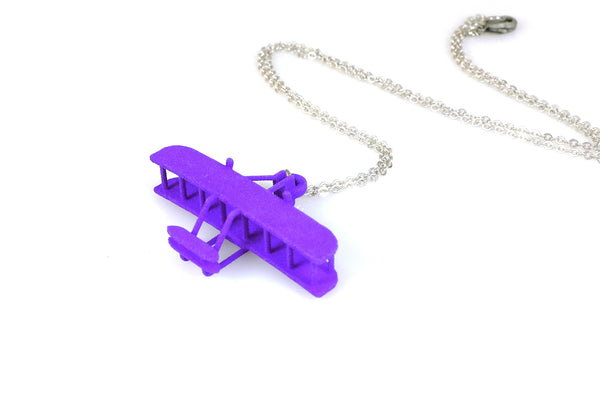 Wright Flyer Necklace - Free For Mind - 2