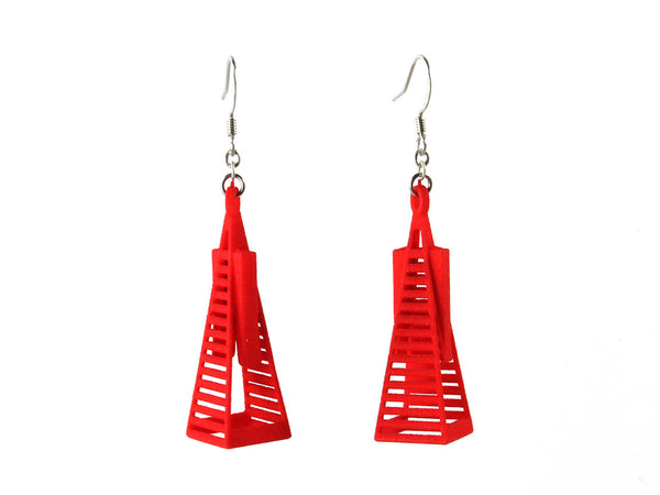 Transamerica Pyramid Earrings - Free For Mind - 3