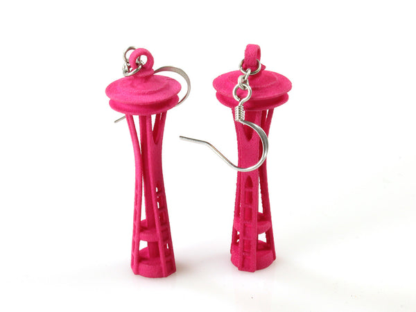 Space Needle Earrings - Free For Mind - 1