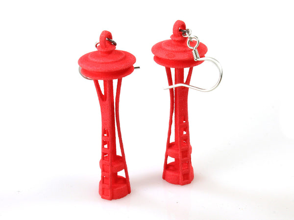 Space Needle Earrings - Free For Mind - 3