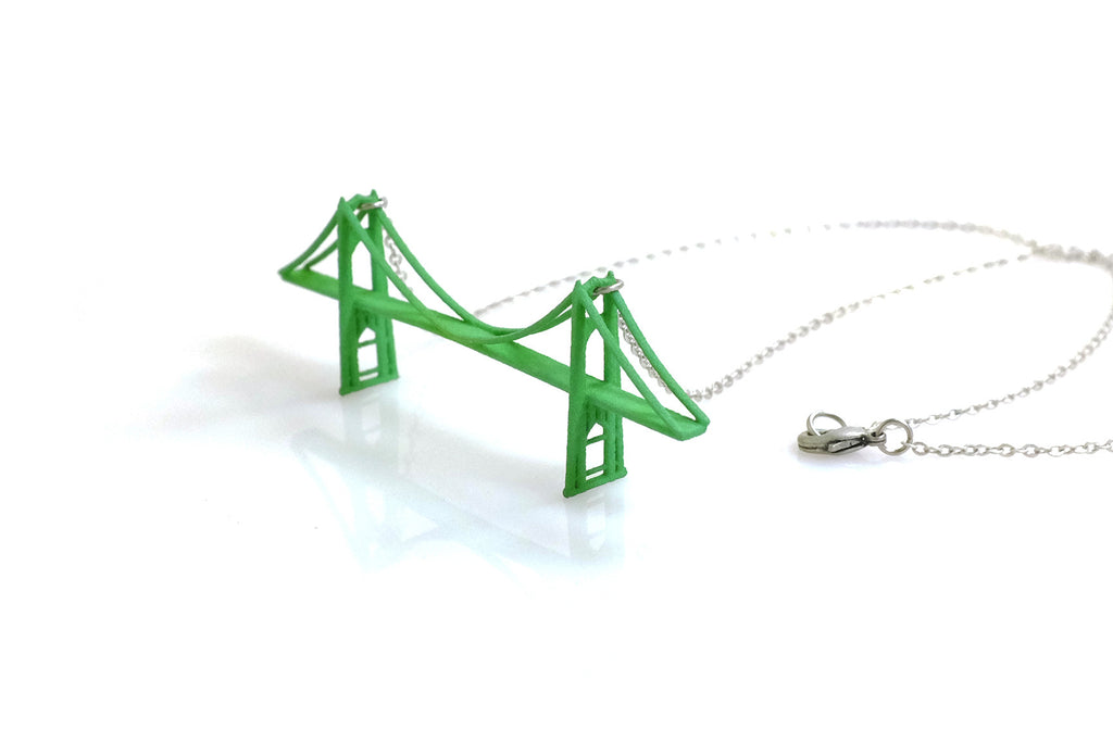 Saint Johns Bridge Necklace - Free For Mind
