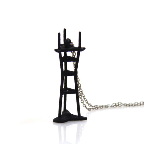 Sutro Tower Necklace- Nylon - Free For Mind