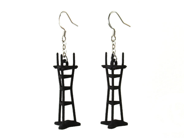 Sutro Tower Earrings - Free For Mind - 5