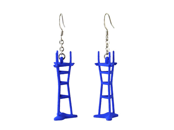 Sutro Tower Earrings - Free For Mind - 3