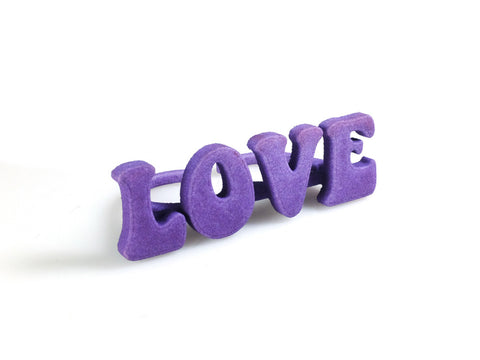 "Statement ""Love"" Ring - Free For Mind - 1"