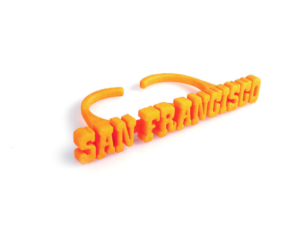 "Statement ""San Francisco"" Ring - Free For Mind - 1"