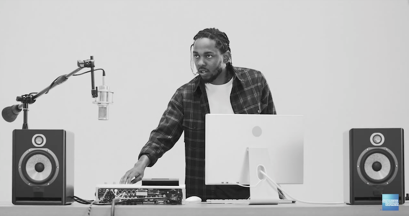 Video: Kendrick Lamar making beats now?