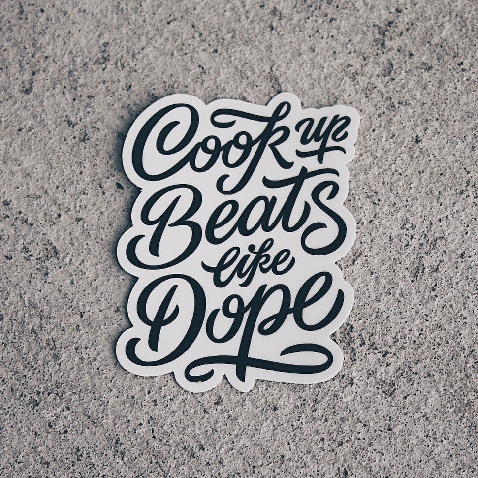 Cook Up Beats (Stickers)