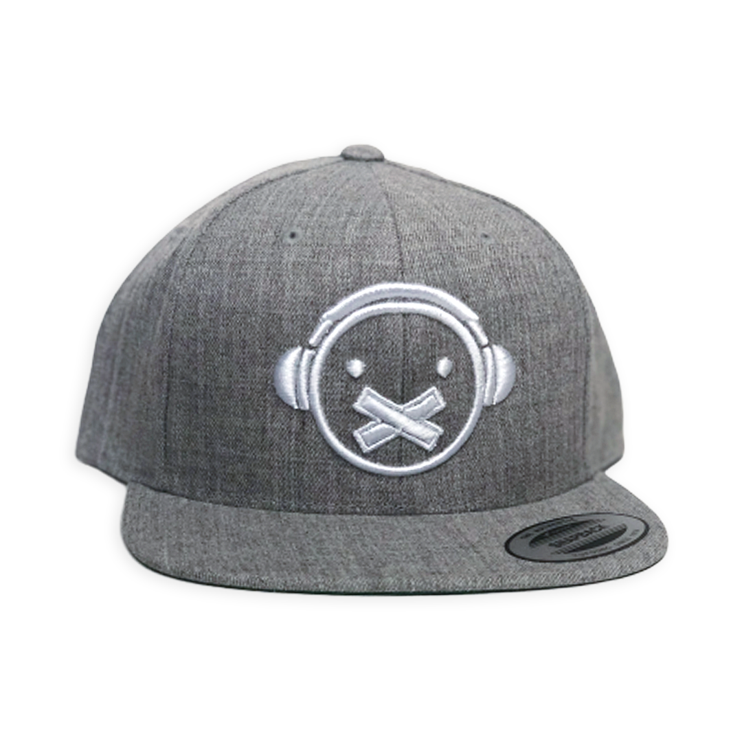 Loud Silence Icon Snapback (Heather Gray)
