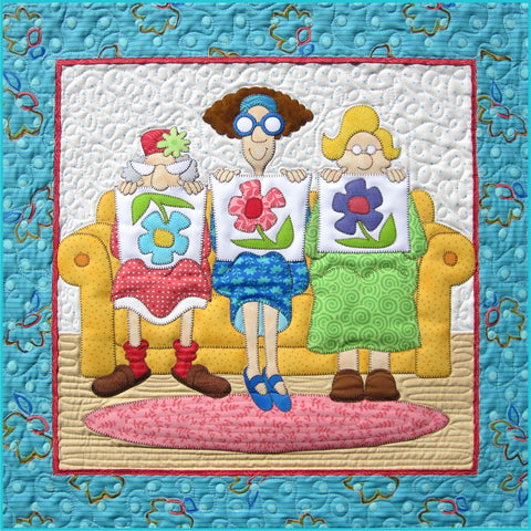 1 Little 2 Little 3 Little Quilters Fabric Kit & Pattern