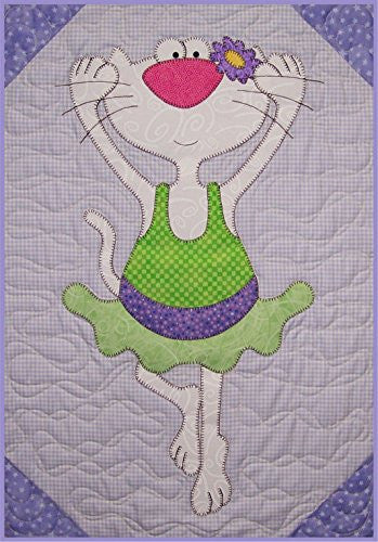 Tippy Toe Kitty Block Pattern