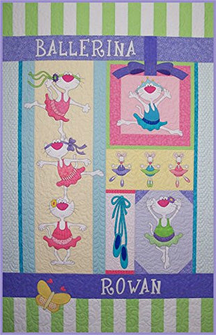 Ballerina Kitties Quilt Pattern