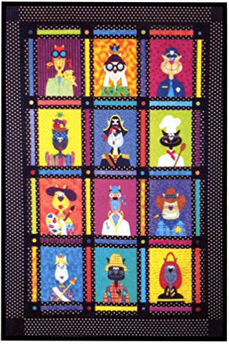 Kitty City Quilt Pattern
