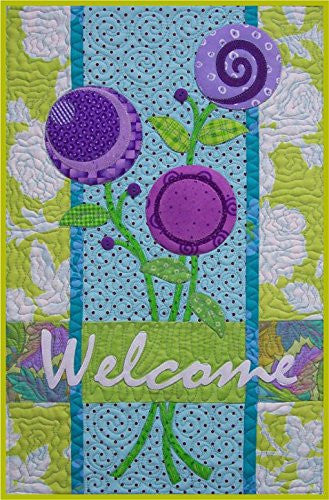 A Blooming Welcome Quilt Pattern