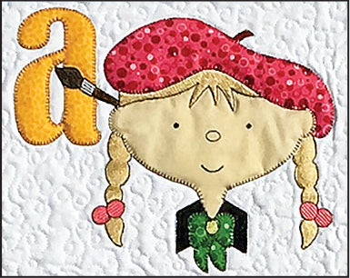 My Alphabet Quilt Machine Embroidery Files