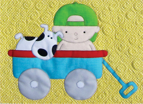 Baby Wagon Block Download Pattern