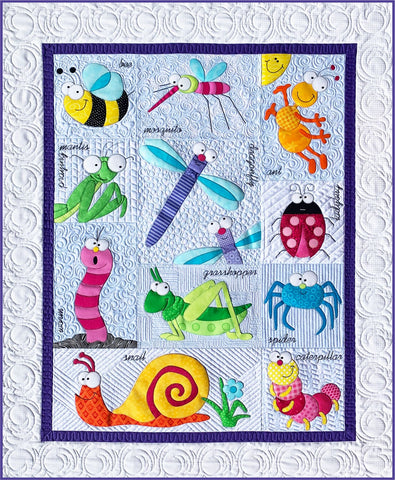 Backyard Friends Quilt Pattern