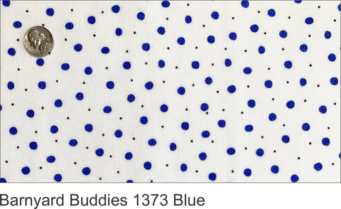 Barnyard Buddies 1373 Blue Flannel