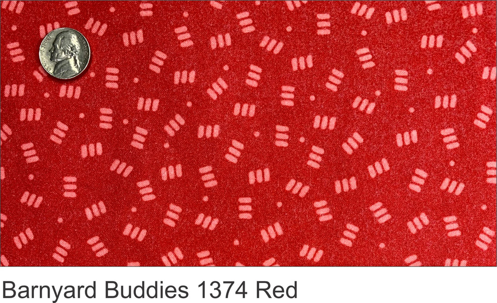 Barnyard Buddies 1374 Red Flannel