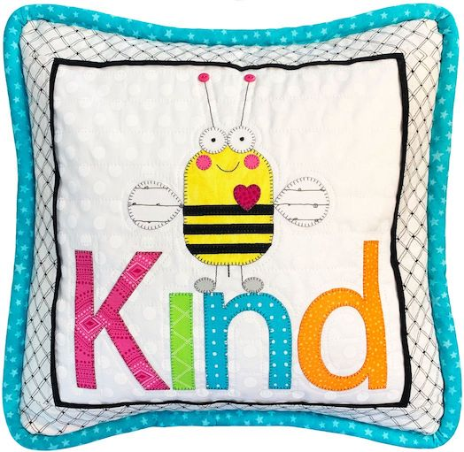 Bee Kind Pillow Pattern