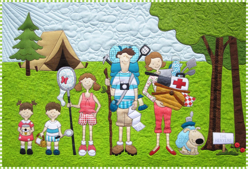Campers Quilt Pattern – Amy Bradley Designs : amy bradley quilt patterns - Adamdwight.com