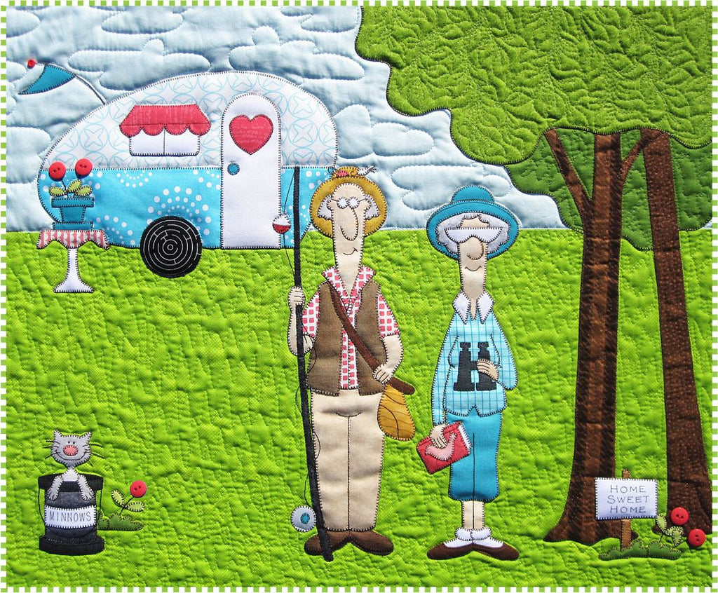 Campers Quilt Pattern – Amy Bradley Designs : camping quilt - Adamdwight.com