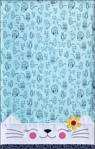 Cat Pillowcase Fabric Kit & Pattern