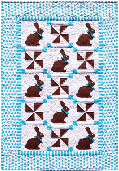 Chocolate Bunnies Pattern & Fabric Kit