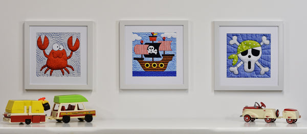 Pirates Set of Eight Prints