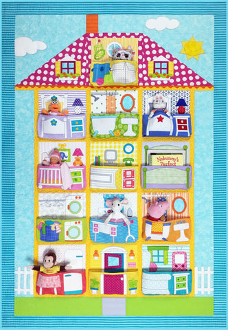 Dollhouse Pattern & Fabric Kit