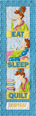 Eat Sleep Quilt Fabric Kit & Pattern